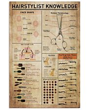 Hairdresser Hairstylist Knowledge 11x17 Poster front
