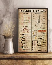 Hairdresser Hairstylist Knowledge 11x17 Poster lifestyle-poster-3