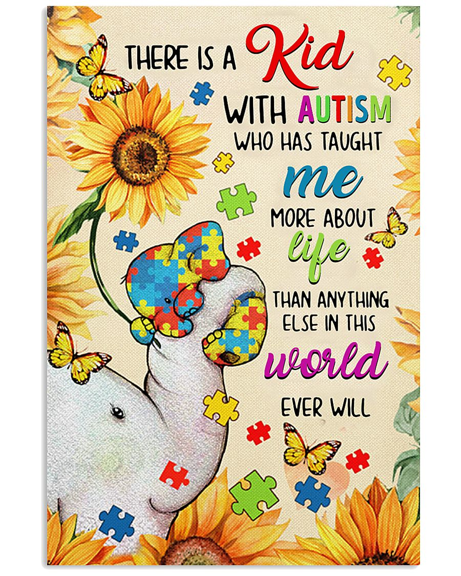 Autism awareness There is a kid 11x17 Poster