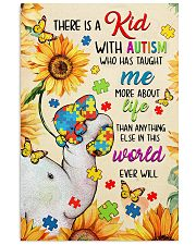 Autism awareness There is a kid 11x17 Poster front