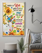 Autism awareness There is a kid 11x17 Poster lifestyle-poster-1