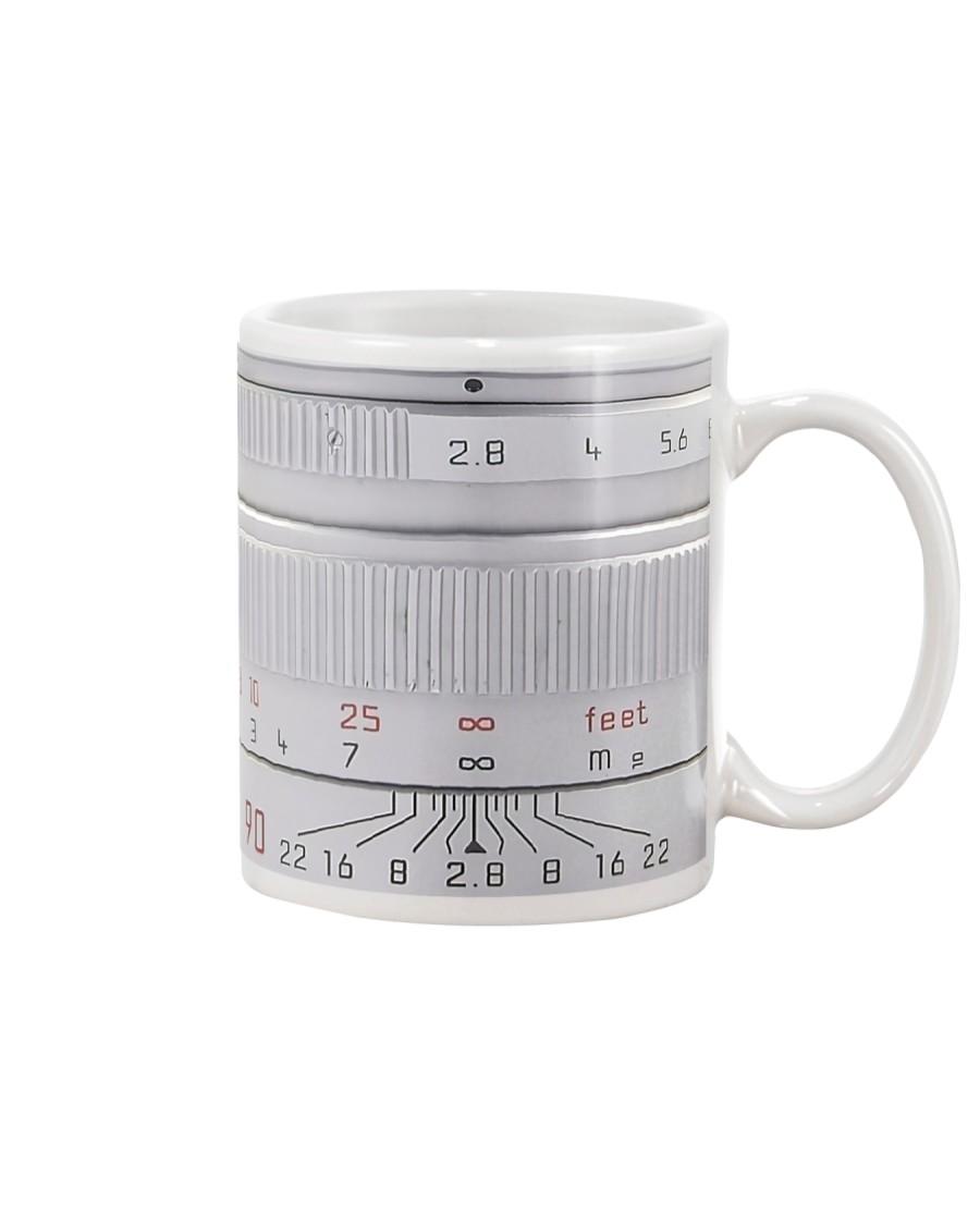 Silver Camera Lens Photographer Mug