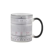 Silver Camera Lens Photographer Color Changing Mug thumbnail