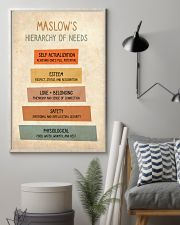 Social Worker Maslow's Hierarchy Of Needs 11x17 Poster lifestyle-poster-1