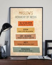 Social Worker Maslow's Hierarchy Of Needs 11x17 Poster lifestyle-poster-2