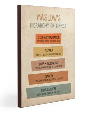 Social Worker Maslow's Hierarchy Of Needs 20x30 Gallery Wrapped Canvas Prints thumbnail