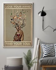 Hairdresser Find Your Soul 11x17 Poster lifestyle-poster-1