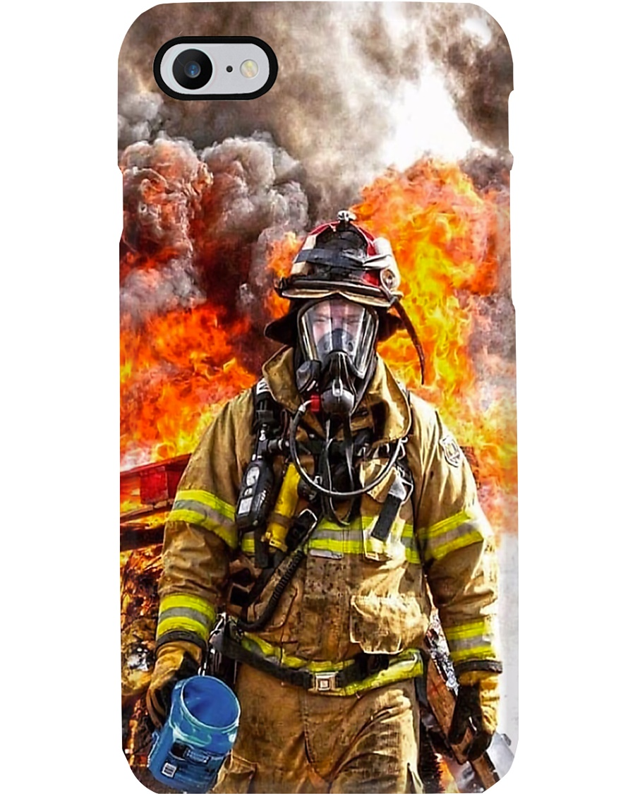 Firefighter Smoke Phone Case