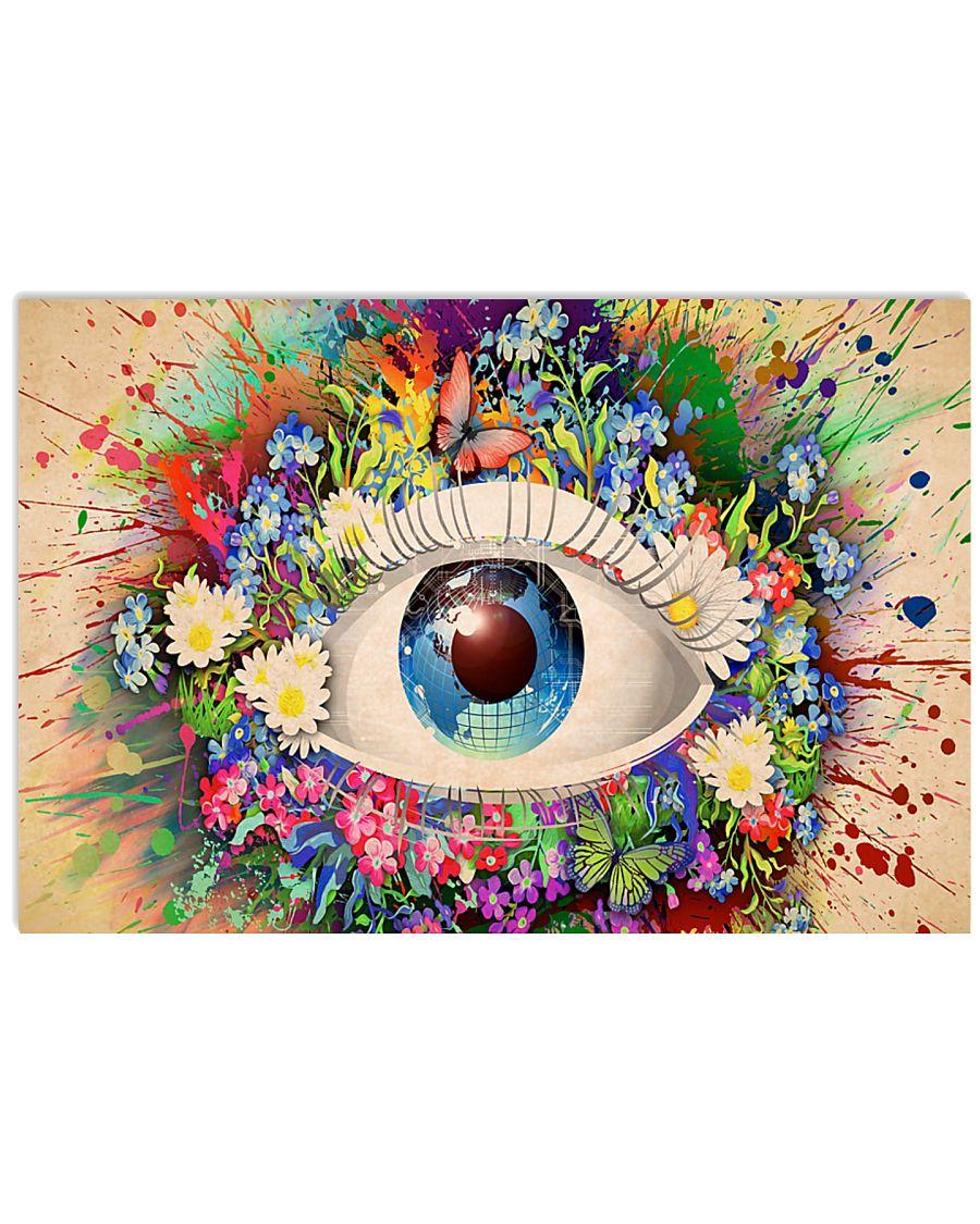 Optometrist Magic Eye 17x11 Poster