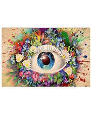 Optometrist Magic Eye 17x11 Poster front