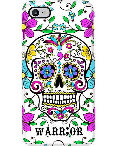 Warrior Sugar Skull Suicide Prevention