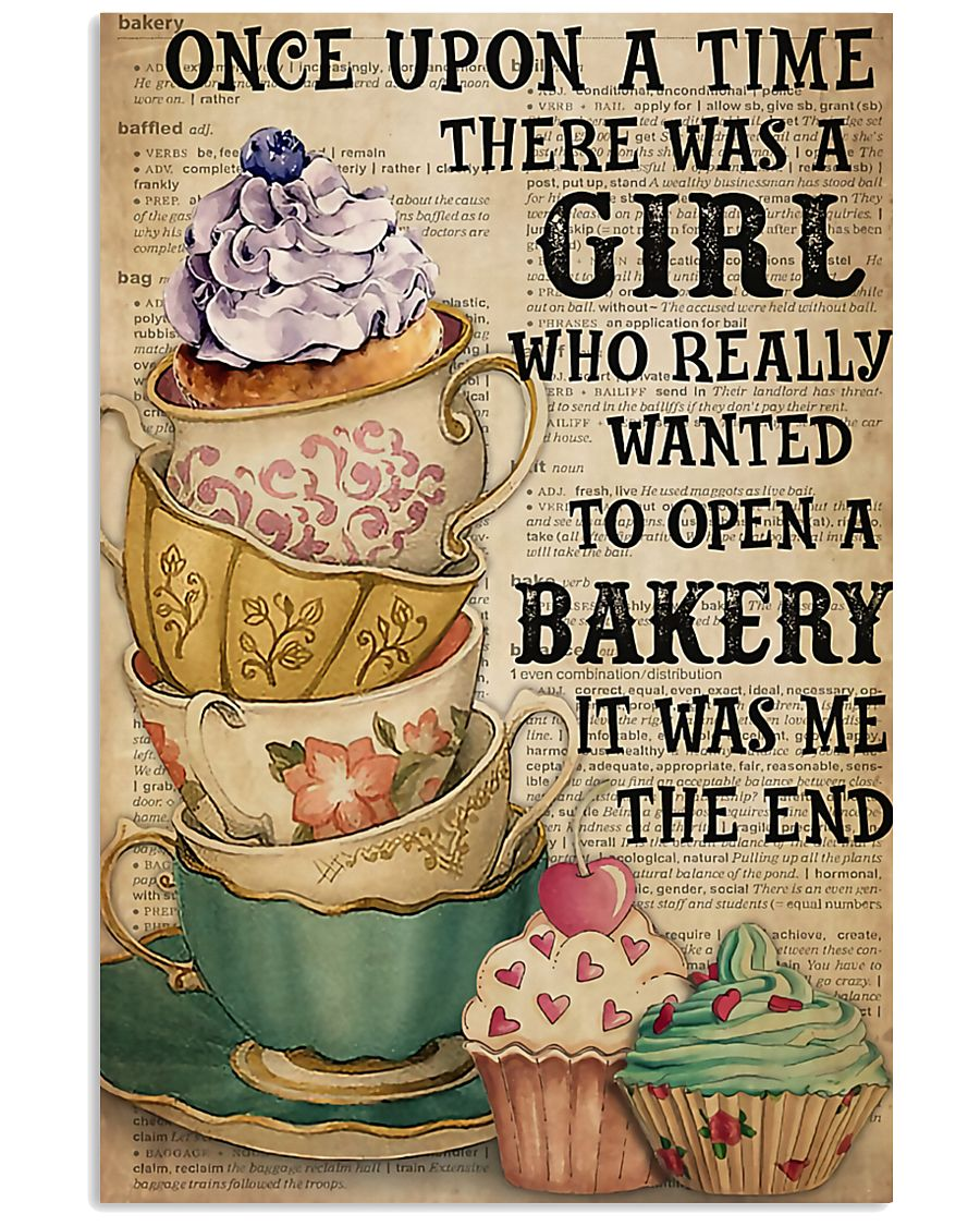 Baking A Girl Who Really Wanted To Open A Bakery 11x17 Poster