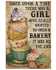 Baking A Girl Who Really Wanted To Open A Bakery 11x17 Poster front
