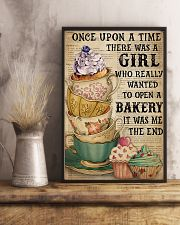 Baking A Girl Who Really Wanted To Open A Bakery 11x17 Poster lifestyle-poster-3