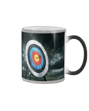Archery Target Color Changing Mug tile