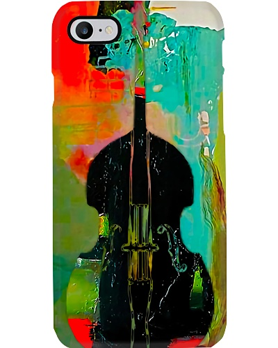 Contrabass painting