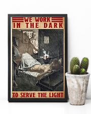 Radiologist We Work In The Dark To Serve The Light 11x17 Poster lifestyle-poster-8