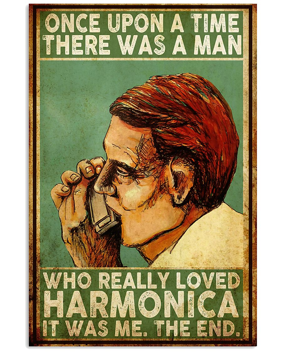 Harmonica Once Upon A Time 11x17 Poster