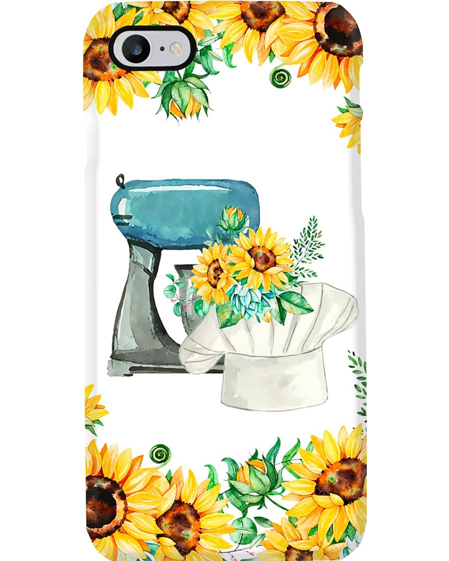 Baking Machine Sunflowers  Phone Case