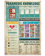 Paramedic Knowledge 11x17 Poster front