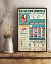 Paramedic Knowledge 11x17 Poster lifestyle-poster-3