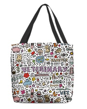 Veterinary Hamster Vet Cat Dog All-over Tote back