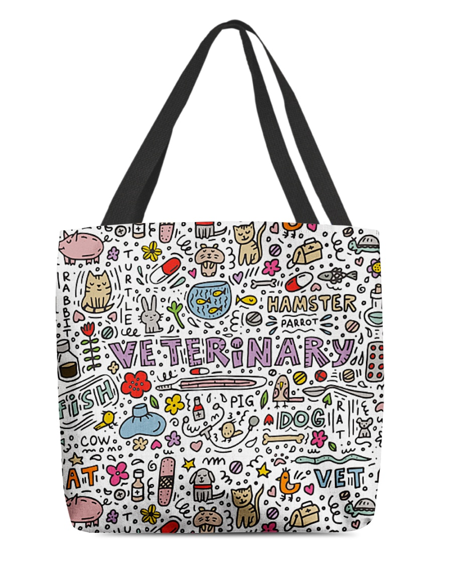 Veterinary Hamster Vet Cat Dog All-over Tote