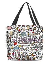 Veterinary Hamster Vet Cat Dog All-over Tote front