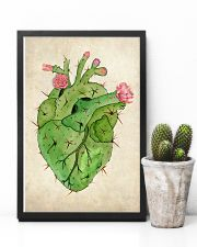 Cardiologist Cacti Heart 11x17 Poster lifestyle-poster-8