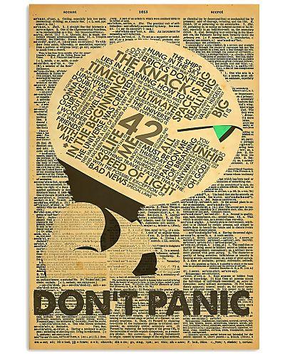 Scientist Don't Panic