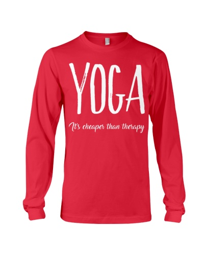Yoga - It's cheaper than therapy