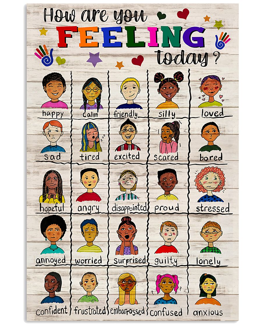 Social Worker How Are You Feeling Today 11x17 Poster