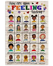 Social Worker How Are You Feeling Today 11x17 Poster front