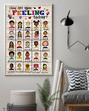 Social Worker How Are You Feeling Today 11x17 Poster lifestyle-poster-1