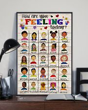 Social Worker How Are You Feeling Today 11x17 Poster lifestyle-poster-2