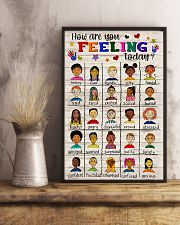 Social Worker How Are You Feeling Today 11x17 Poster lifestyle-poster-3