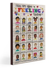 Social Worker How Are You Feeling Today 20x30 Gallery Wrapped Canvas Prints thumbnail