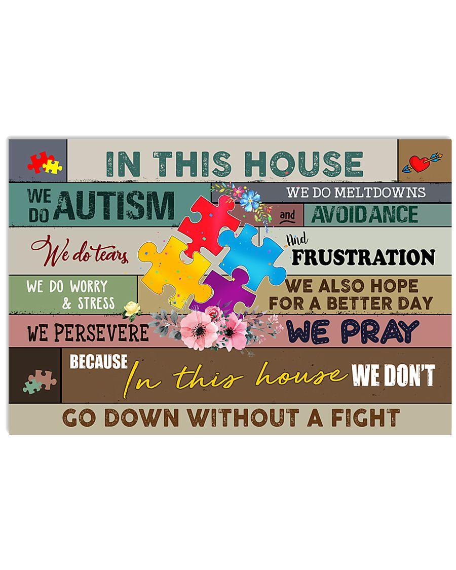 Autism Awareness We do autism 17x11 Poster
