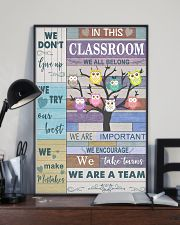 Teacher We Don't Give Up   11x17 Poster lifestyle-poster-2