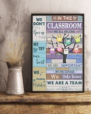 Teacher We Don't Give Up   11x17 Poster lifestyle-poster-3