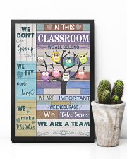 Teacher We Don't Give Up   11x17 Poster lifestyle-poster-8