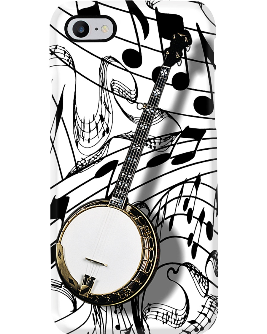Banjo Music Sheet Phone Case