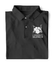 Drummer I destroy silence Classic Polo thumbnail