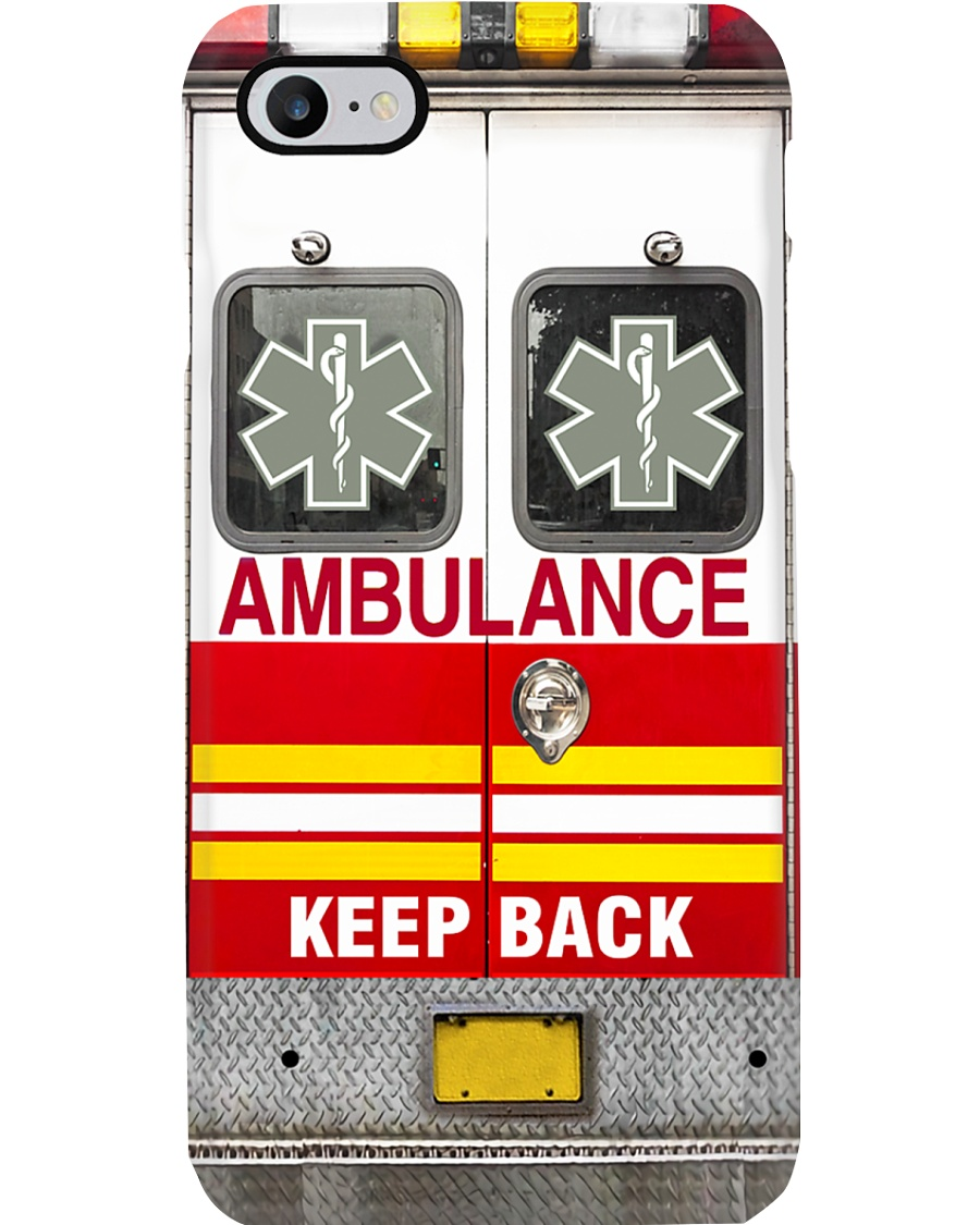 Paramedic EMT Ambulance Phone Case