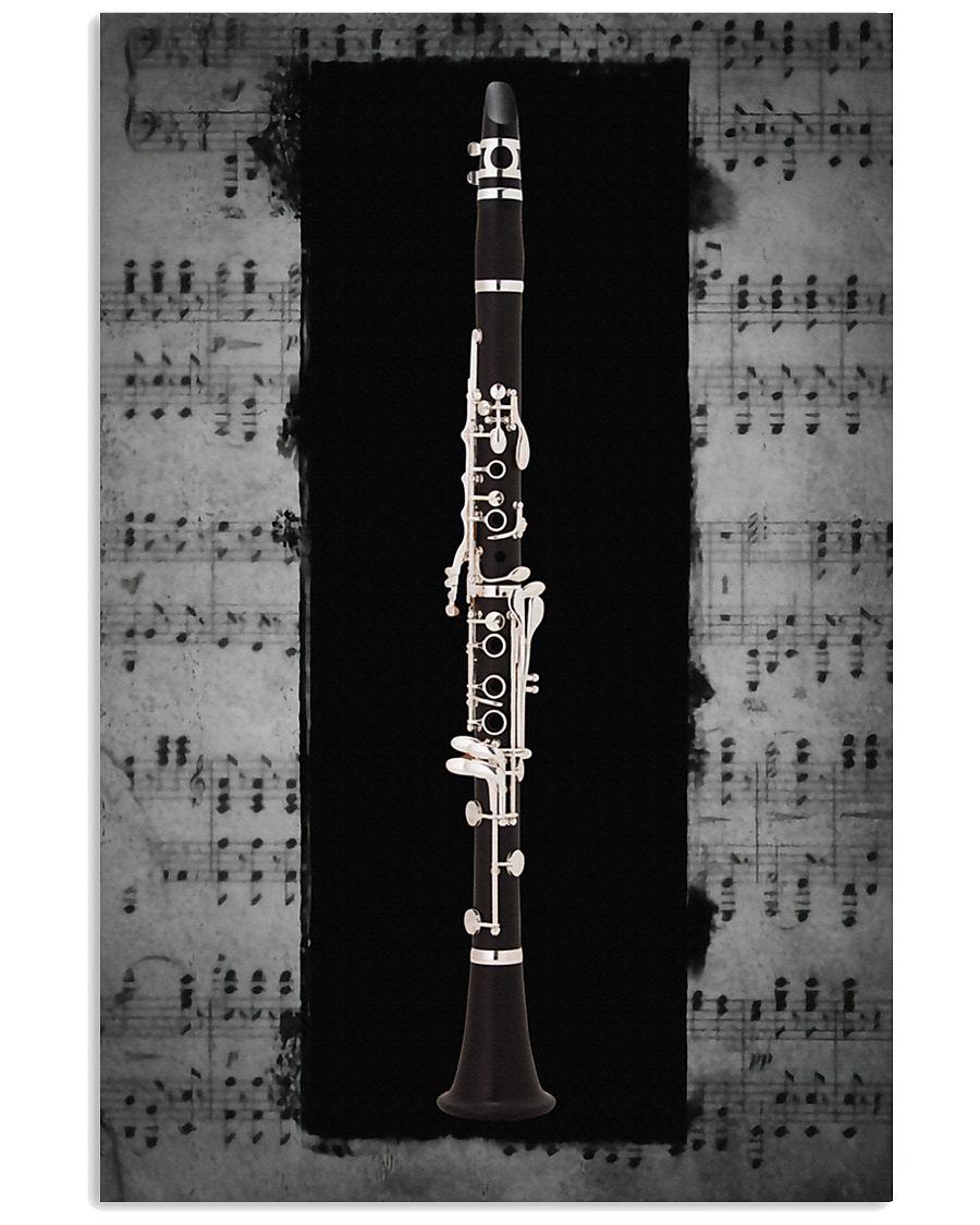 Black Clarinet  11x17 Poster