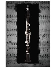 Black Clarinet  11x17 Poster front