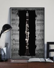 Black Clarinet  11x17 Poster lifestyle-poster-2
