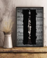 Black Clarinet  11x17 Poster lifestyle-poster-3