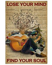 Find Your Soul Guitar Music 11x17 Poster front