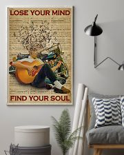 Find Your Soul Guitar Music 11x17 Poster lifestyle-poster-1